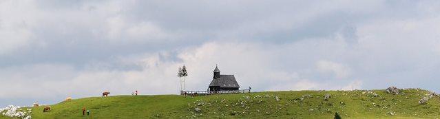 ballade en montagne slovénie