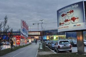 Ljubljana centre commercial