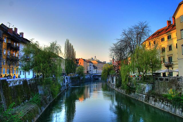 ljubljana rivière