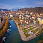 Une petite ballade à côté du centre de Ljubljana