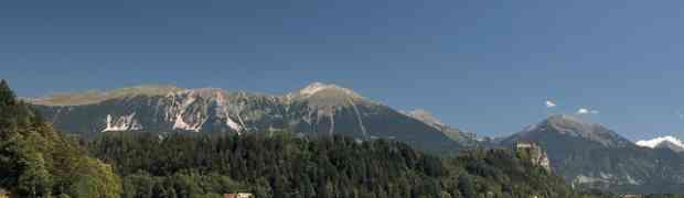 Le lac de Bled en Slovénie et le camping de Bled