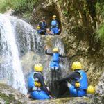Le canyoning en Slovénie