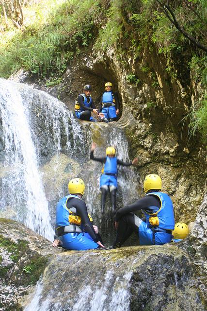 canyonning slovenie