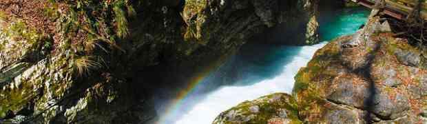 Les magnifiques gorges de Vintgar, à 4 km du lac de Bled