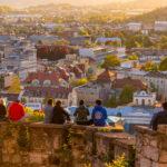 les deux bons restos du Château de Ljubljana