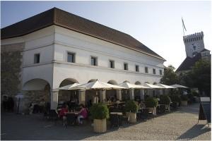 restaurant chateau slovénie