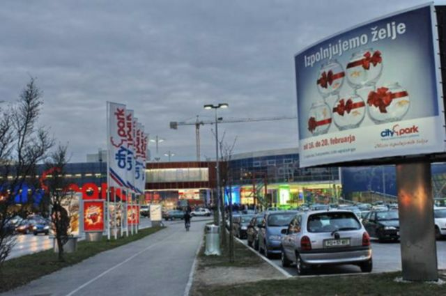 centre commercial Ljubljana