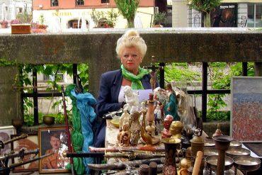 ljubljana marché puces
