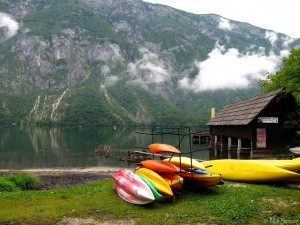 canoe bohinj