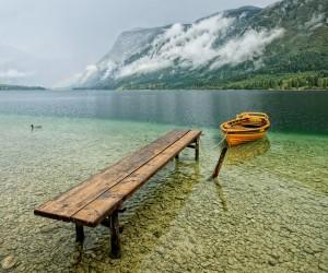 Trajet lac de Bohinj
