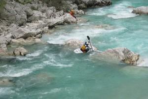 sport eaux vives slovénie