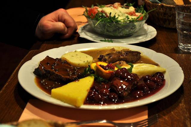 restaurant typique slovénie