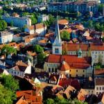 Une vidéo superbe, Ljubljana vue du ciel !