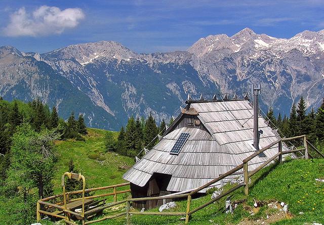 paysage de slovenie -