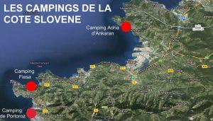 camping slovènie mer piran