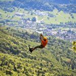 Une tyrolienne géante en Slovénie