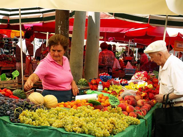 marché de Ljubljana