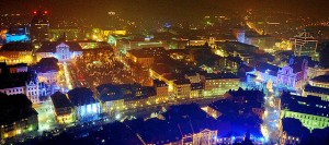 ljubljana vue nuit du chateau