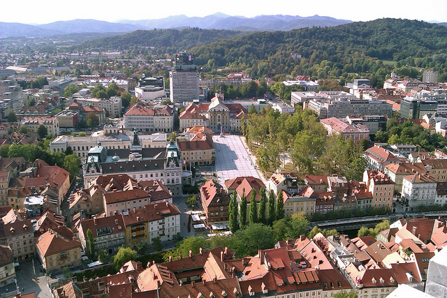 se garer à Ljubljana