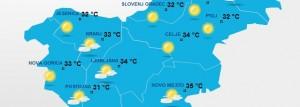 slovénie meteo canicule