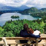 Spot secret : la vue de carte postale sur le lac de Bled