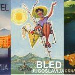 12 superbes posters vintages sur les vacances en Yougoslavie et en Slovénie