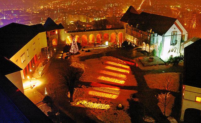 films au château de Ljubljana