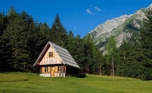 refuge montagnes slovenie