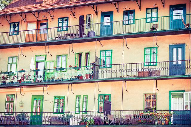 Ljubljana visite immeuble