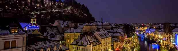 Pourquoi vous devez venir à Ljubljana en décembre?