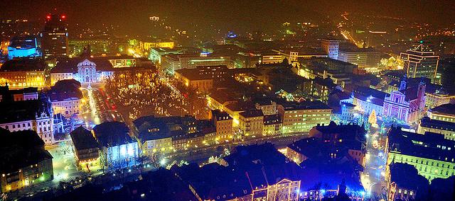 décembre à Ljubljana
