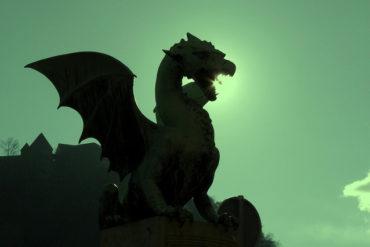 pont de dragons à Ljubljana