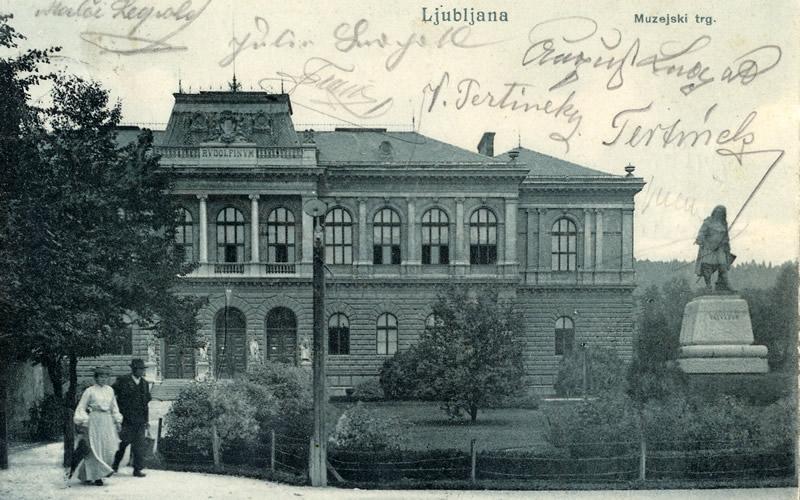 vieux bâtiments Ljubljana