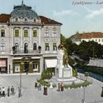 Cartes postales de Ljubljana vers 1900