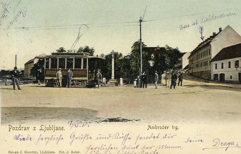 la slovénie et le tramway.
