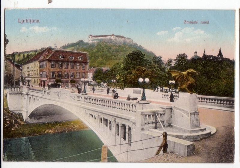 ljubljana place centrale most