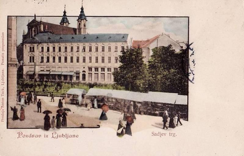 preseren place 1900