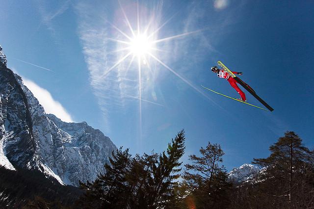 saut a ski slovenie