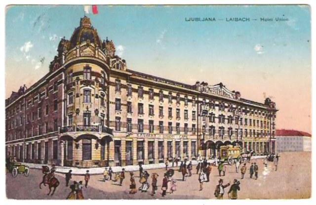hotel historique ljubljana