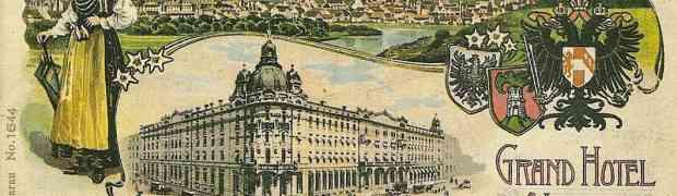 Logez dans le splendide hôtel Union de Ljubljana (1905)