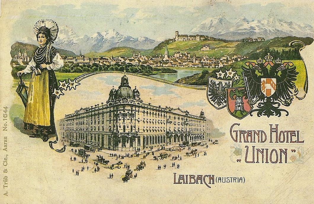 union hotel Ljubljana