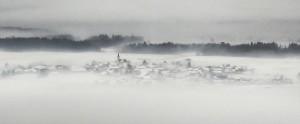 village hiver slovenie