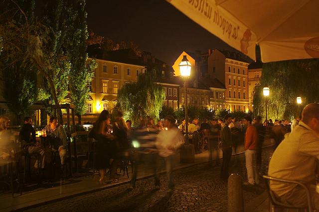 ljubljana bars soirs