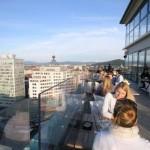 Neboticnik, un bar perché en haut du premier gratte-ciel de Yougoslavie