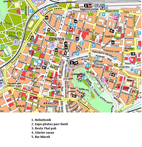 sortir à Ljubljana le soir