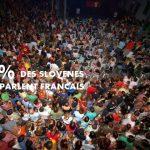 Combien de slovenes parlent francais?