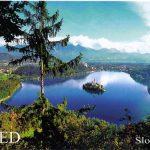 Le spot secret de la vue splendide des cartes postales du lac de Bled