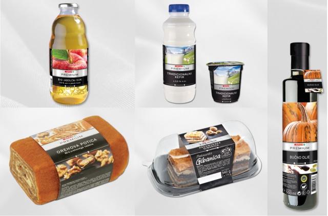 supermarché slovénie bons produits locaux
