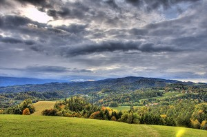 slovenie il pleut