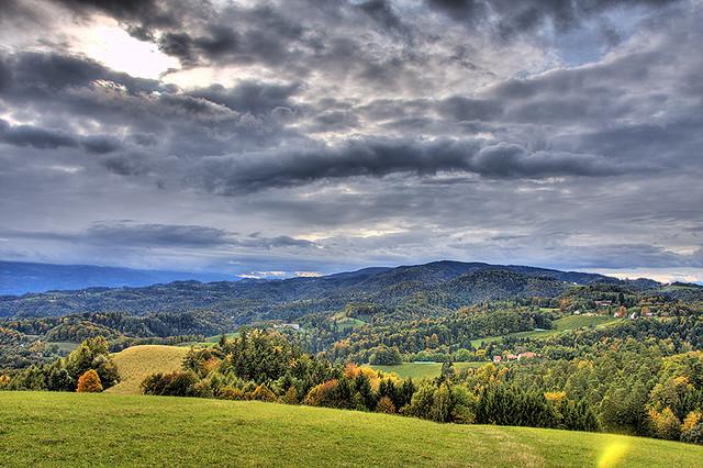 slovenie automne